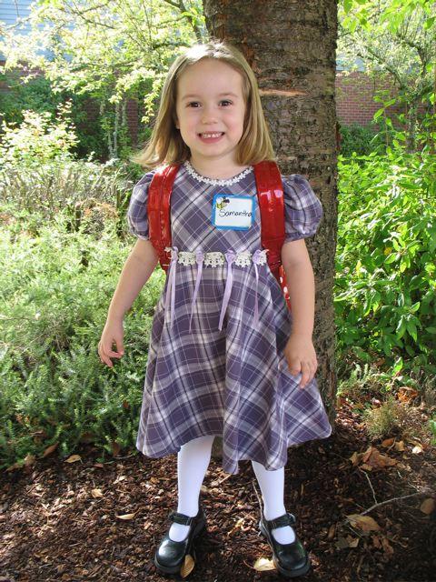 First day ofkindergarten