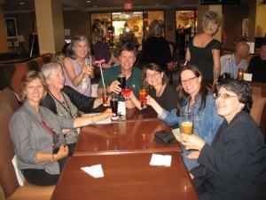 Cindy Hudson's Book Deal Toast