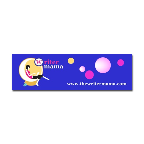 Writer Mama Bumper Sticker