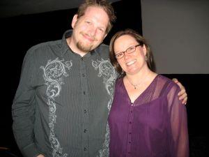 Chris Brogan & Christina Katz at the Writer's Digest Conference 2009